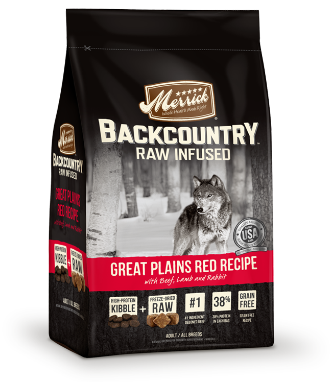 Merrick backcountry raw infused great plains dry red recipe backcountry raw infused great plains red recipe forumfinder Gallery