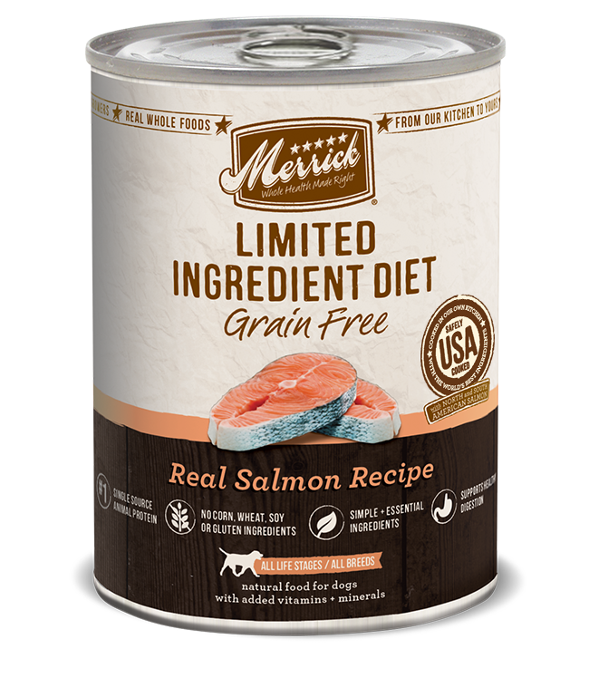 Merrick limited ingredient diet real salmon grain free canned limited ingredient diet grain free real salmon recipe forumfinder Image collections