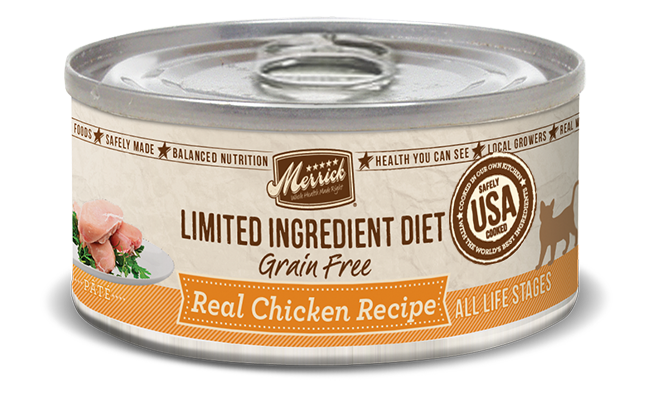 Merrick limited ingredient diet real chicken recipe grain free limited ingredient diet grain free real chicken recipe forumfinder Choice Image
