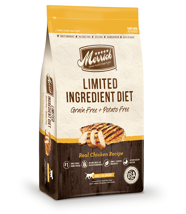 Limited Ingredient Diet Grain Free Real Chicken Merrick Pet Care
