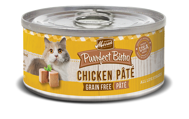 Merrick purrfect bistro recipes chicken pate grain free canned cat purrfect bistro grain free chicken pt forumfinder