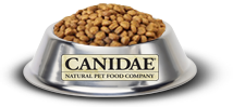 Canidae bowl of dog food
