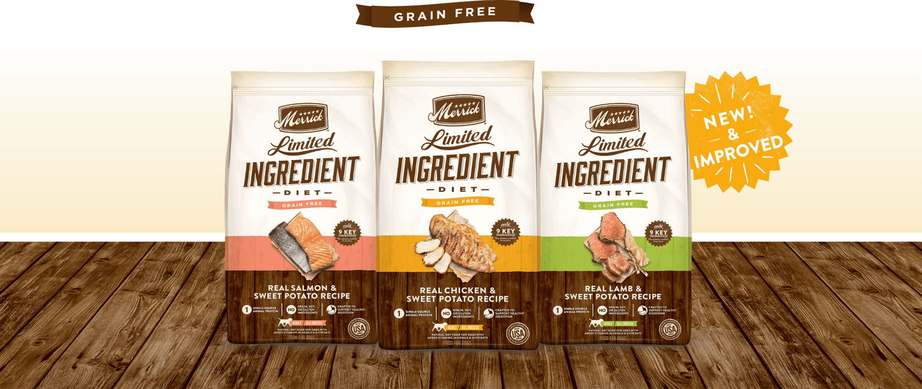 Our Grain Free Limited Ingredient Diet Dog Recipes