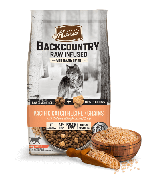 Backcountry Raw Infused With Grains Pacific Catch Recipe