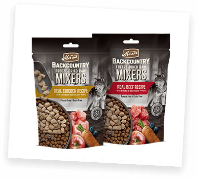 Backcountry Freeze-Dried Raw Mixers packages