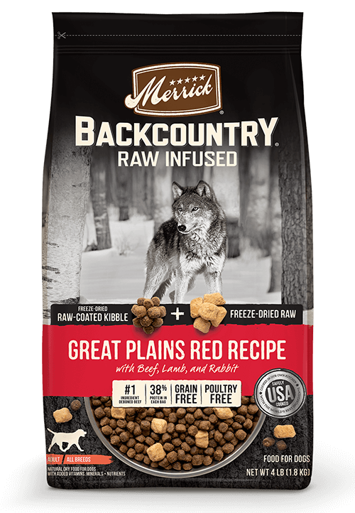 Merrick Backcountry Great Plains Red Recipe