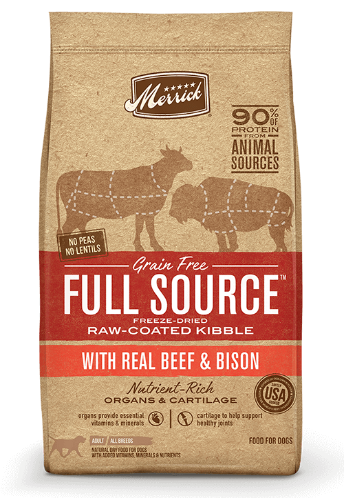 Merrick Full Source Beef and Bison Recipe