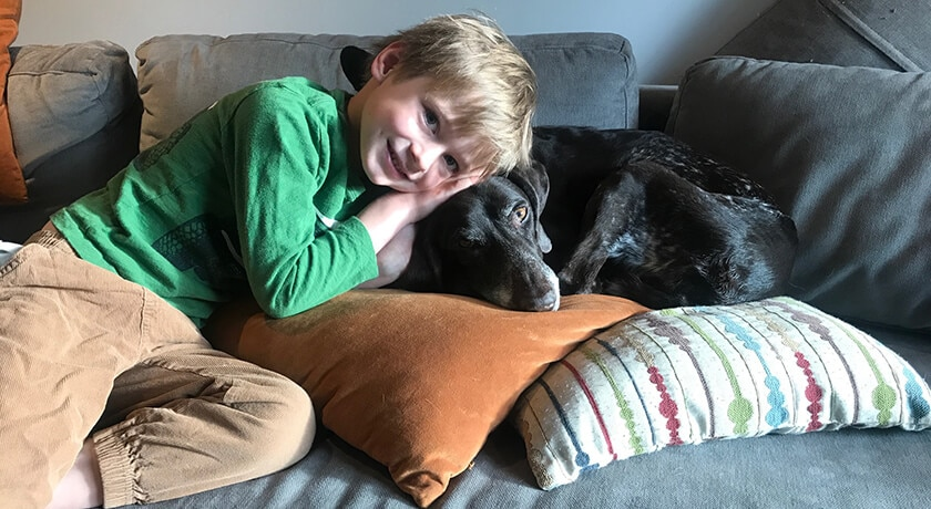 Six Reasons Dogs Are Good For Your Kids