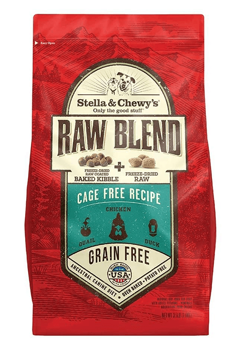 Stella and Chewys Raw Blend Cage Free Recipe