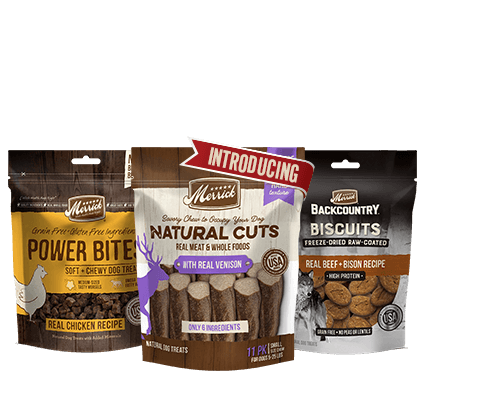 Merrick Power Bites Natural Cuts Backcountry Biscuits