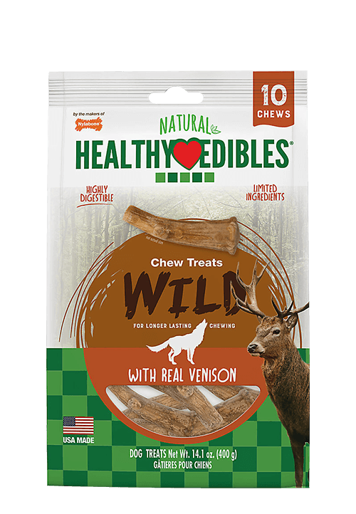 Healthy Edibles venison chews