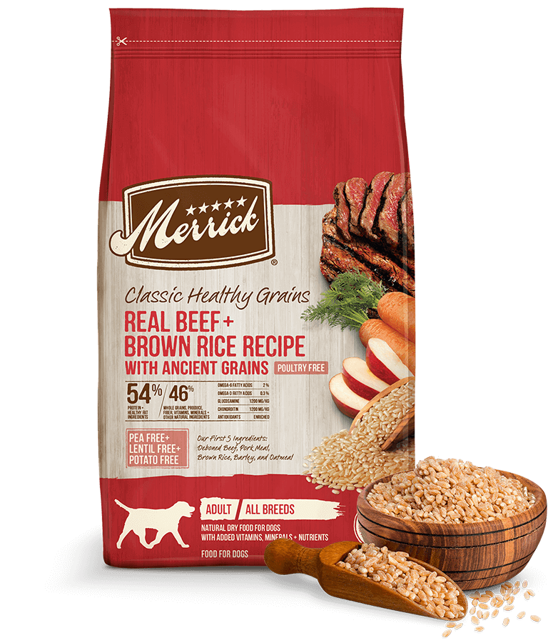 Classic Healthy Grains Real Beef Dry Dog Food