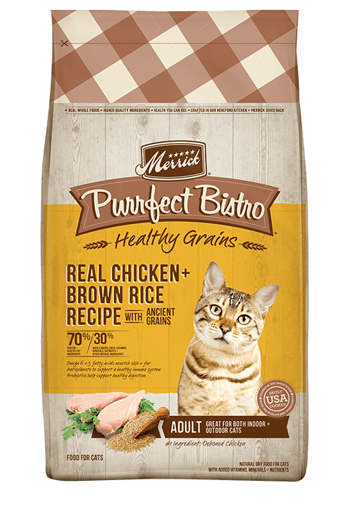Merrick Purrfect bistro Healthy grains chicken rice
